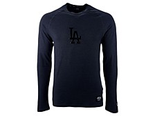 Los Angeles Dodgers Men's Silitone Long Sleeve Raglan T-Shirt