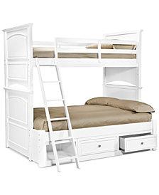 Roseville Twin Over Full Kids Bunk Bed