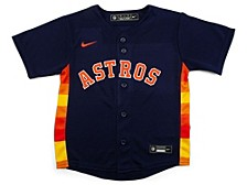 Toddler Houston Astros Official Blank Jersey