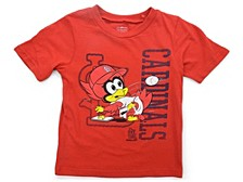 St. Louis Cardinals Toddler Boys Baby Mascot T-Shirt