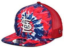 St. Louis Cardinals Tie Dye Mesh Back 9FIFTY Cap