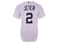 Men's New York Yankees Coop Derek Jeter Player Replica Jersey