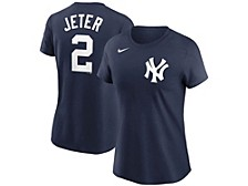 New York Yankees Derek Jeter Women's Name and Number Player T-Shirt
