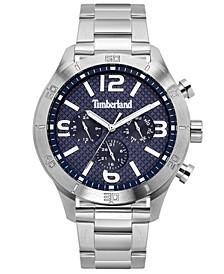 Men's Stainless Steel Bracelet Watch 49.5mm