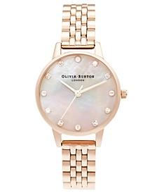 Women's Classics Rose Gold-Tone Bracelet Watch 30mm