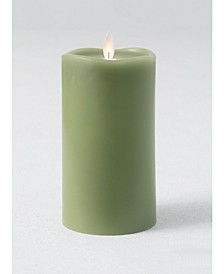 Wave Top Candle Wax Pillar