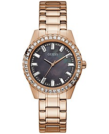 Women's Rose Gold-Tone Bracelet Watch 38mm