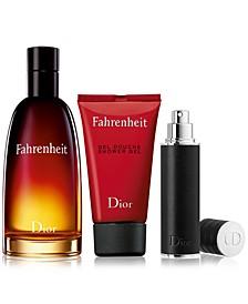 Men's 3-Pc. Fahrenheit Eau de Toilette Gift Set