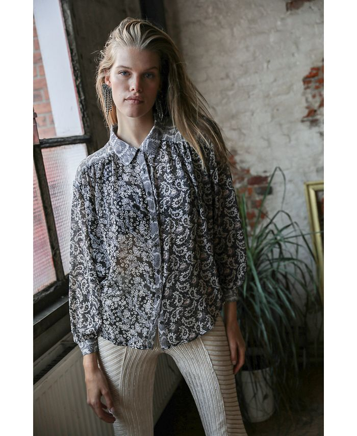 Free People - Dani Printed Blouse