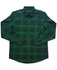 Men's Plaid Shirt, Created for Macy's