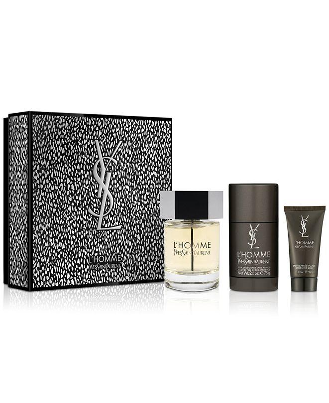 Yves Saint Laurent Men's 3-Pc. L'Homme Eau de Toilette Gift Set