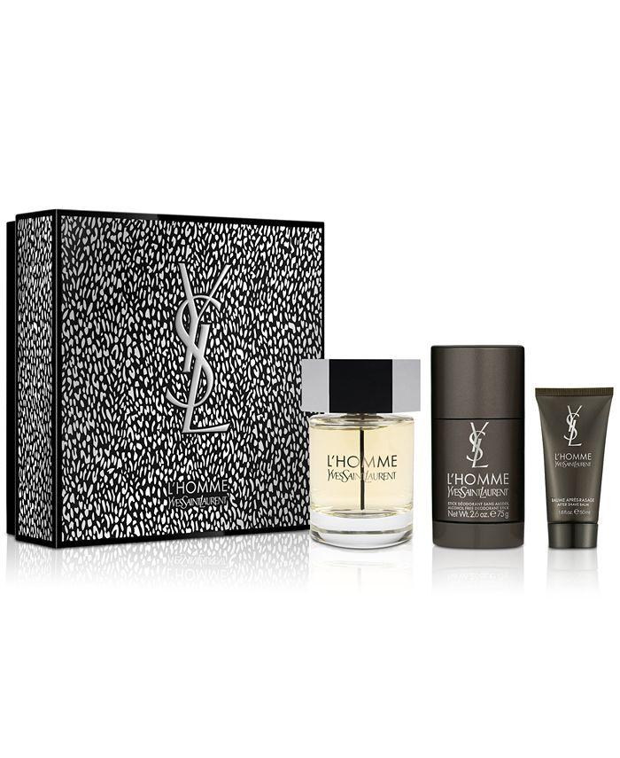 Yves Saint Laurent - Men's 3-Pc. L'Homme Eau de Toilette Gift Set