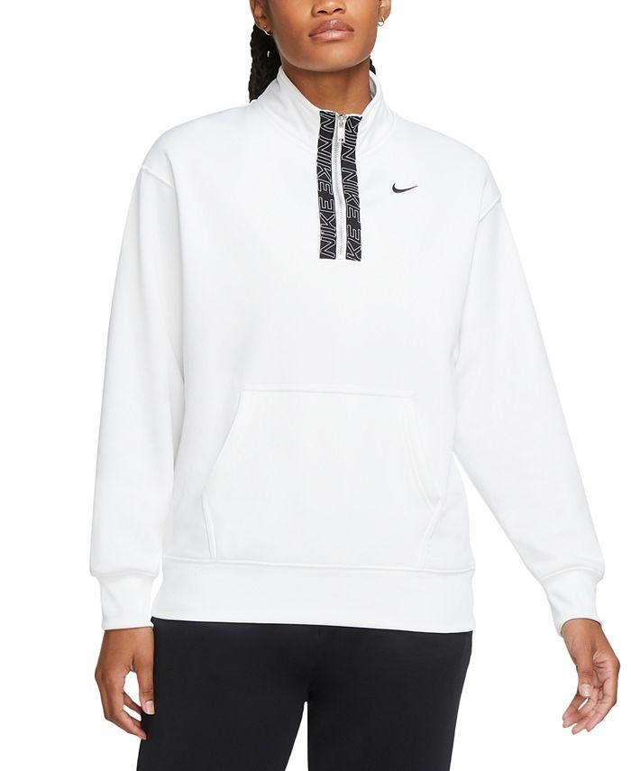 Nike - Therma Half-Zip Fleece Top