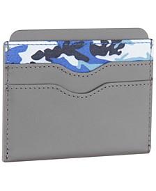 Men's Camo-Print Card Case
