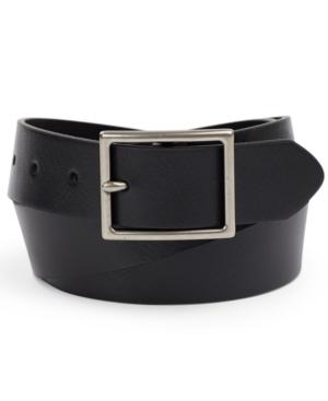 Men's Faux Leather Belt