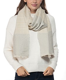 INC Plaid Colorblocked Scarf, Created for Macy's