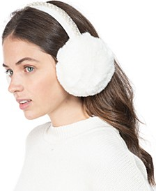 INC Embellished Faux-Fur Earmuff, Created for Macy's