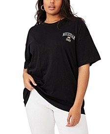 Plus Size Oversized Graphic T-shirt