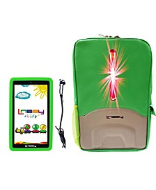 Android 10 Tablet with Kids Defender Case, Earphones and LED Back Pack