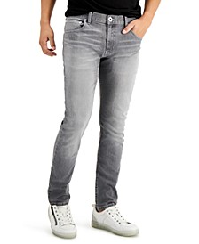 INC Men's Grey Skinny Jeans, Created for Macy's