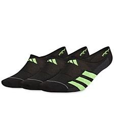 Men's 3-Pack Superlite Stripe II Super No-Show Socks