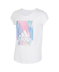 Big Girls Short Sleeve Scoop Neck T-shirt