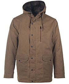 Men's Waxed Cotton Hooded Parka