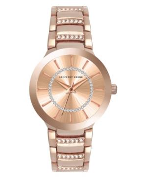 Women's Rose Gold Metal Alloy Bracelet Watch