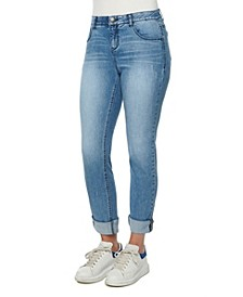 Women's Mid-Rise AB Solution Girlfriend Jeans