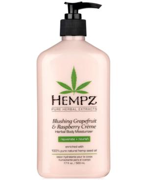 Blushing Grapefruit & Raspberry Creme Herbal Body Moisturizer