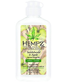 Fresh Fusions Sandalwood & Apple Herbal Shave Gel, 6-oz., from PUREBEAUTY Salon & Spa