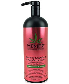 Blushing Grapefruit & Raspberry Crème Herbal Color Preserving Conditioner, 33-oz., from PUREBEAUTY Salon & Spa