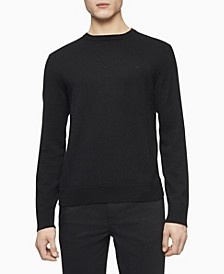 Merino Crew Neck Logo Sweater