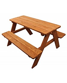 Wood Kids Picnic Table