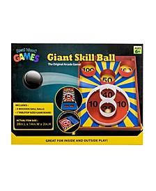 Wood Skill Ball Game