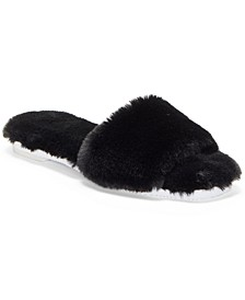 Women's Ampendie Fuzzy Slide Slippers