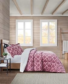 Mariette Sherpa King Comforter Set