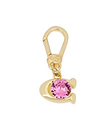 Collectible Signature Pink Swarovski® Crystals Charm