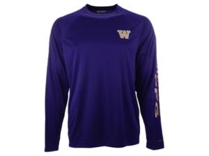 Washington Huskies Men's Terminal Tackle Long Sleeve T-Shirt