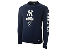 New York Yankees Men's Stacked Line Up Long Sleeve T-Shirt