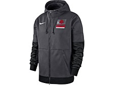 Ohio State Buckeyes Men's Therma Full Zip Hooded Sweatshirt Jacket