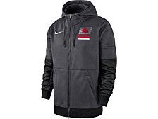 Nike Ohio State Buckeyes Men's Therma Full Zip Hooded Sweatshirt Jacket