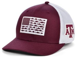 Texas A & M Aggies Pfg Fish Flag Stretch-fitted Cap