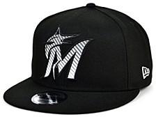 Miami Marlins Silver Pop 9FIFTY Cap