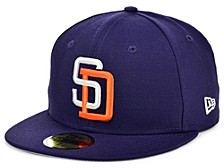 San Diego Padres 100th Patch 59FIFTY Cap