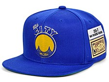 San Francisco Warriors Hardwood Classic Jockey Snapback Cap