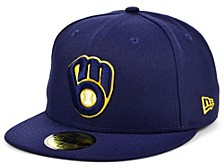 Milwaukee Brewers 2020 Jackie Robinson 59FIFTY Cap