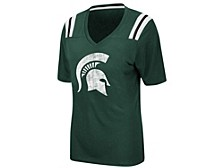 Women's Michigan State Spartans Rock Paper Scissors T-Shirt