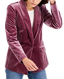 INC Velvet Blazer, Created for Macy's