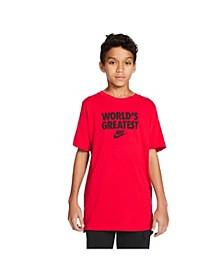 Sportswear Big Boys World's Greatest T-shirt